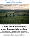 #SmarterSunday: Along the 'Black Route,' A Perilous Path To Asylum